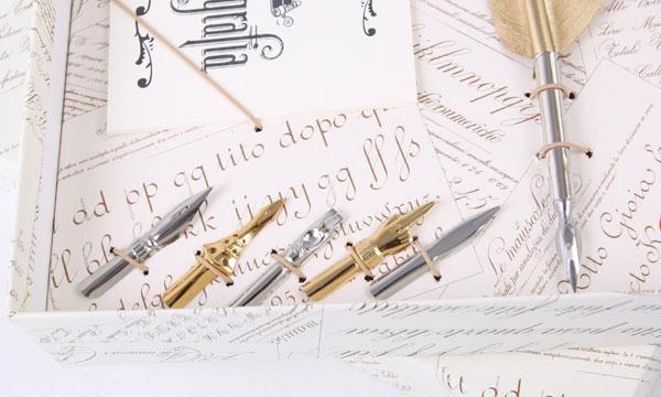 письменный набор с пером подарок деловой купить Киев