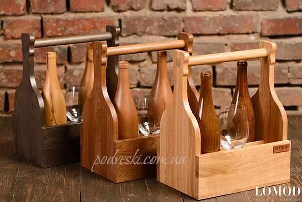 ящик переноска для вина подарок пикник семья
