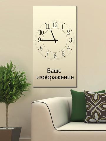 Настенные часы на холсте - оригинальная новинка года! - podveski.com.ua