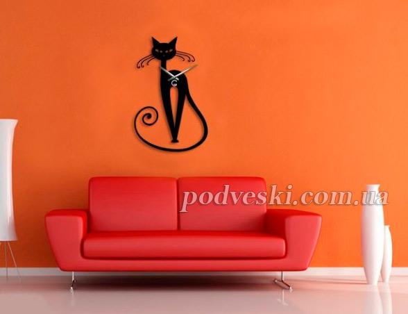 часы с котом кошкой купить Киев