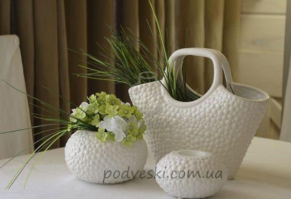 ваза-корзина корзинка ваза декор Этна Киев