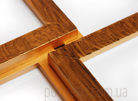 мультирамка деревянная Путешествие Двойное золото