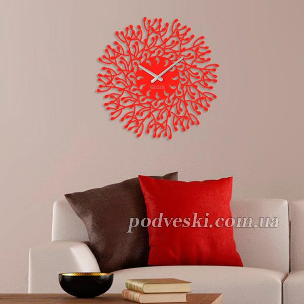 красные настенные часы купить цена