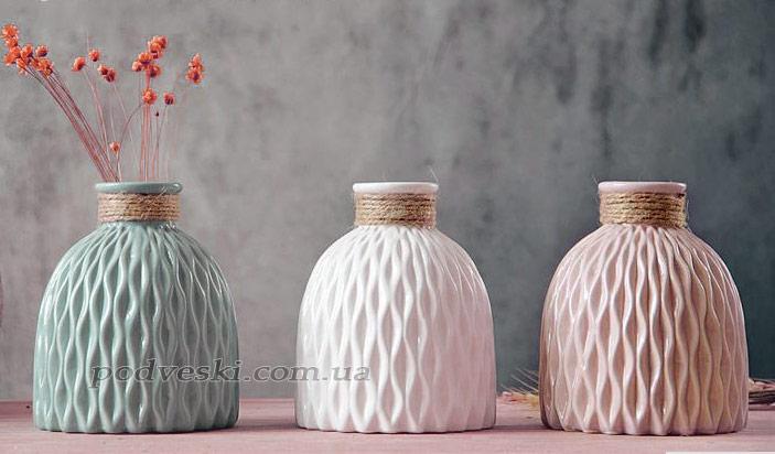 вазочки интерьерные подарок девушке украшение дома офиса