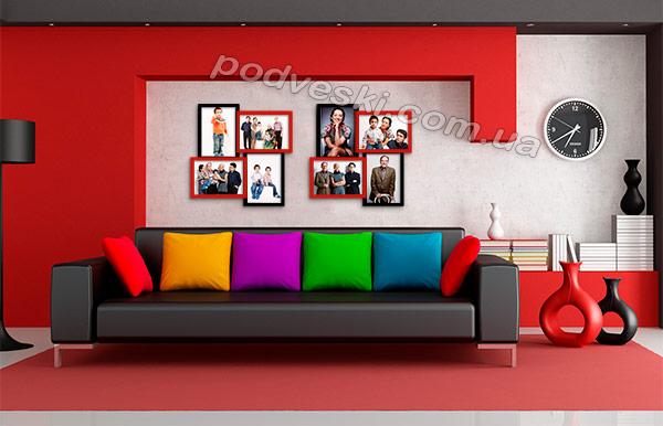 фоторамки коллаж на 8 фото рамка для фото купить декор цена