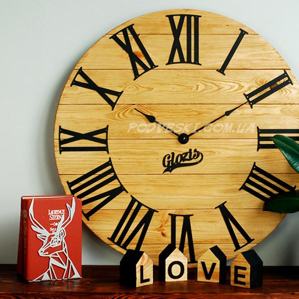 настенные часы из дерева деревянные Украина