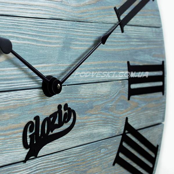 Kansas Graphite великий годинник настінний купити