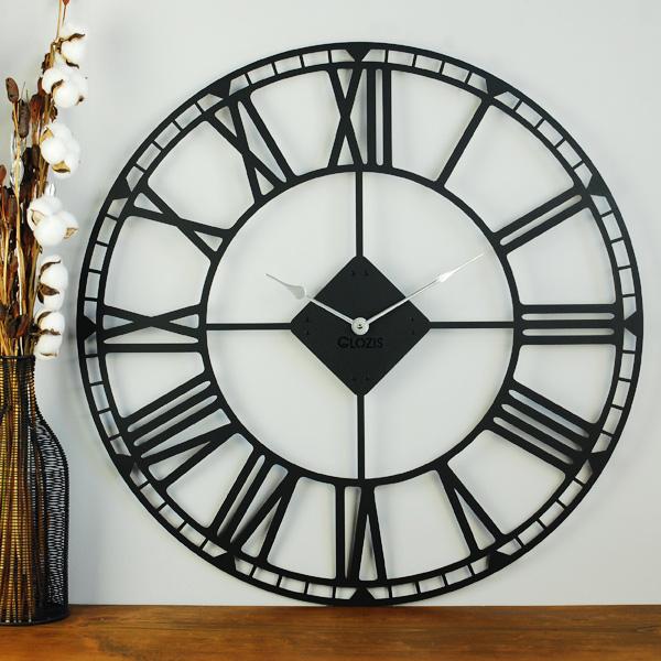 черные настенные часы купить