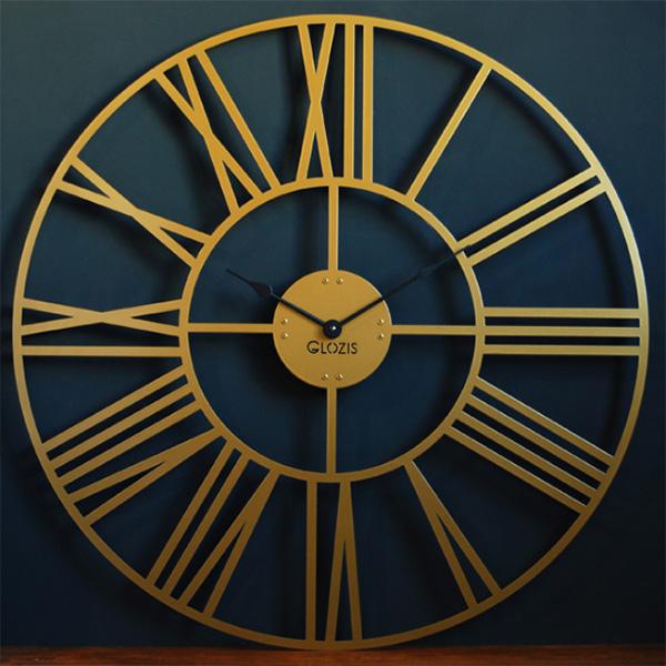 настінний годинник великий Glozis Cambridge Bronze
