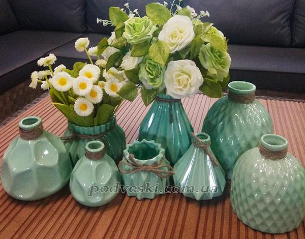 вазочки вазы декор интерьер недорого купить Киев Одесса Харьков