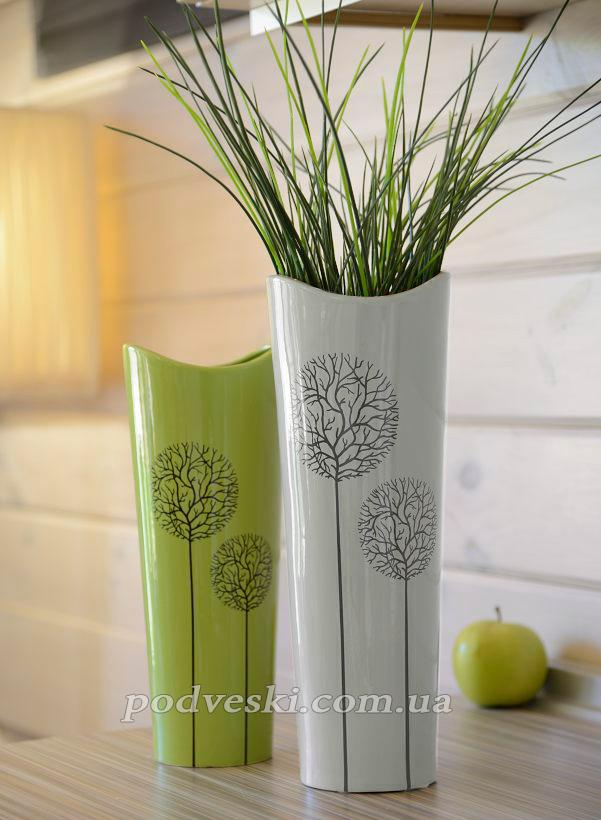 керамическая ваза декор интерьер подарок женщине купить цена Киев Украина