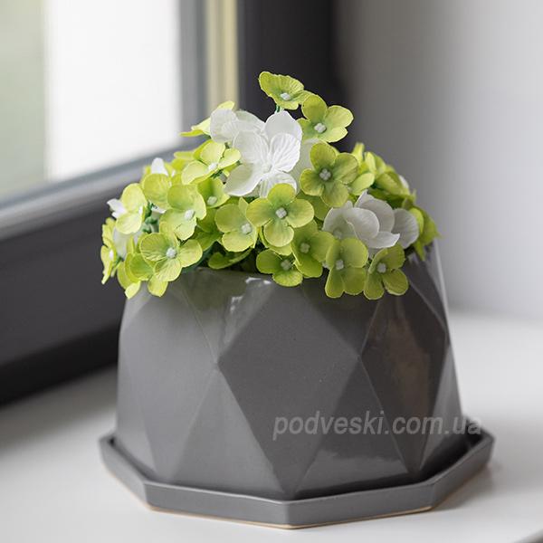 цветочный горшок 20 см купить Киев Одесса