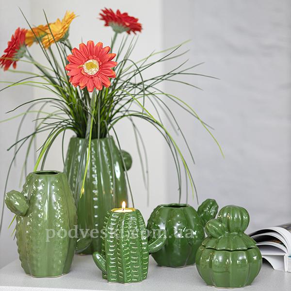 вазы кактус продажа декоративной керамики Украина