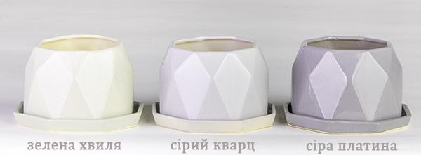 керамические горшки цветочные для цветов Украина