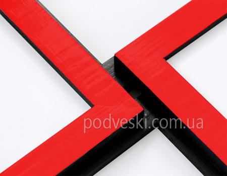 мультирамка Красное и черное на 6 фото Киев, Украина