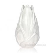 Ваза керамическая Флора 3001-25 white