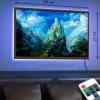 Картина с LED-подсветкой Наскальный замок