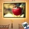 Картина с LED-подсветкой Ягода-малина