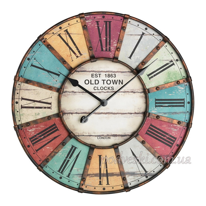 Часы настенные Vintage TFA 603021 60 см большие деревянные Киев ... 8bff3a3c34199