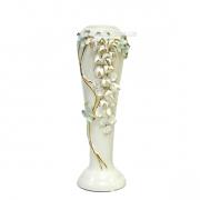 Керамическая ваза Глициния белая 30 см