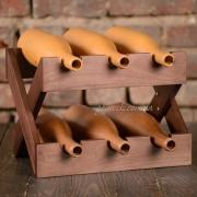 Подставка для вина деревянная Lomod WA-3 венге