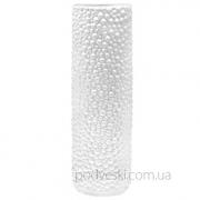 Керамическая белая ваза Eterna Этна 0101W