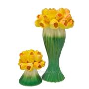 Набор керамический Лира Тюльпан ваза и подсвечник