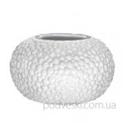 Керамическая белая ваза Этна 0303W