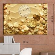 Настенные часы-картина Морской берег