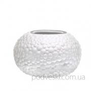Керамическая белая ваза Этна 0505W