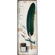Набор для каллиграфии 7227-36 т.-зеленое перо