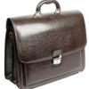 Мужской портфель кожзам Jurom 0-33-112 коричневый