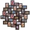 Мультирамка деревянная Облако на 32 фото венге