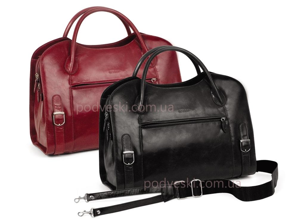 80e3cc2c2b25 Кожаная сумка женская Sheff S5007.10, купить деловую сумку женскую ...