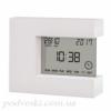 Электронные часы с термометром настольные T-08 белые
