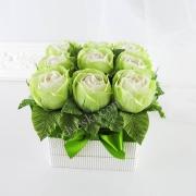 Букет из конфет Дольче вита (салатовые розы)