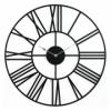 Годинник настінний металевий Glozis Cambridge Black 70 см