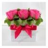 Букет из конфет Дольче вита (розовые розы)