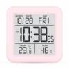 Термогигрометр цифровой T-15 розовый