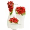 Набор керамических ваз Маковый букет