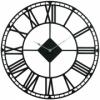 Годинник настінний металевий Glozis Oxford Black