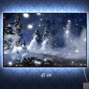 Светильник-ночник Зима