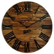 Годинник дерев'яний Glozis Kansas Mokko 60 см