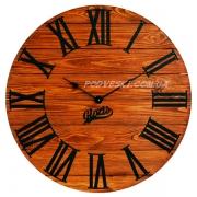 Годинник дерев'яний Glozis Kansas Rust 60 см