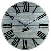 Годинник дерев'яний Glozis Kansas Graphite 60 см