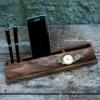 Деревянная подставка телефона и планшета EcoWalNut Компакт