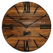 Годинник дерев'яний Glozis Nevada Mokko 40 см
