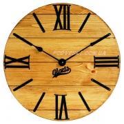 Годинник дерев'яний Glozis Nevada Gold 40 см
