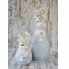 Набор керамических ваз Фанни бирюза