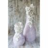 Набор керамических ваз Фанни сирень